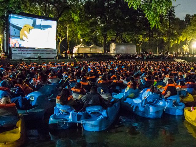 Lanchacinema 2015: ¡ven a ver películas al aire libre desde un Lago de Chapultepec!