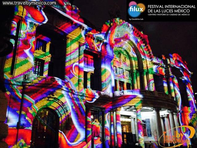 ¡Ya inició FILUX 2015!: Festival Internacional de las Luces México