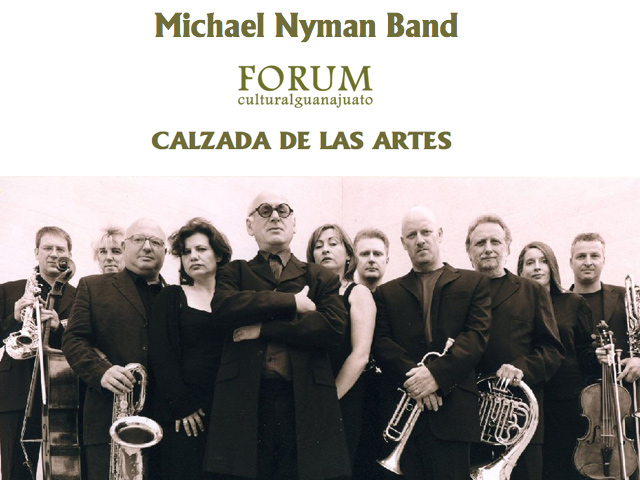 The Michael Nyman Band está de gira por México
