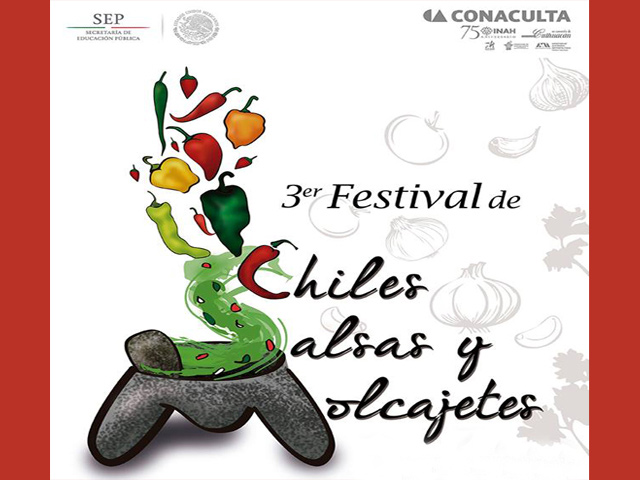 Se acerca el 3er Festival de Chiles, Salsas y Molcajetes 2015 en Culhuacán