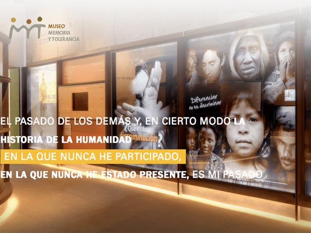 El Museo Memoria y Tolerancia de la ciudad de México