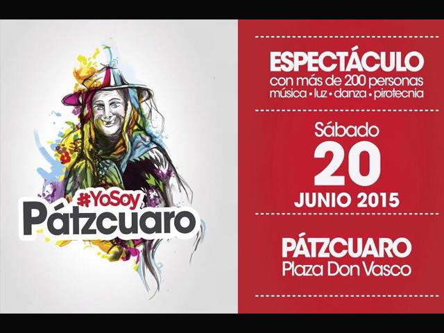 Este mes se estrena 'Yo soy Patzcuaro':  espectáculo de luz, sonido, danza y pirotecnia