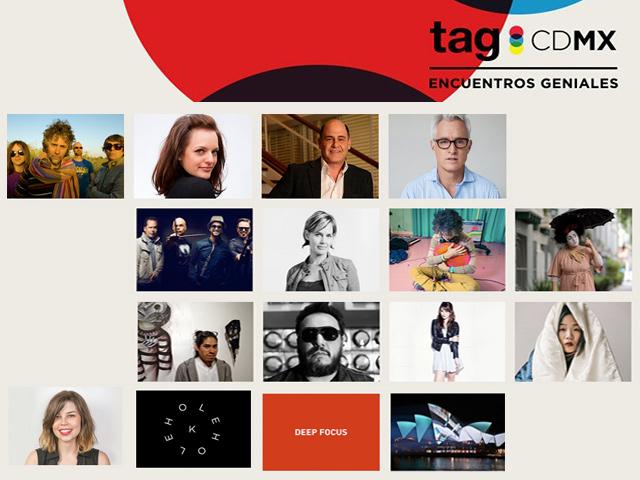 TagCDMX 2015: encuentros entre los genios creativos más importantes de México y el mundo