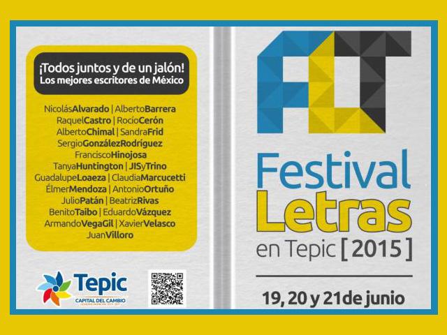 Arrancó el Festival Letras 2015 en Tepic con los mejores escritores de México