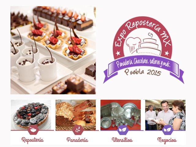 Expo Repostería MX 2015 en Puebla: Panadería, chocolate, talleres y más…