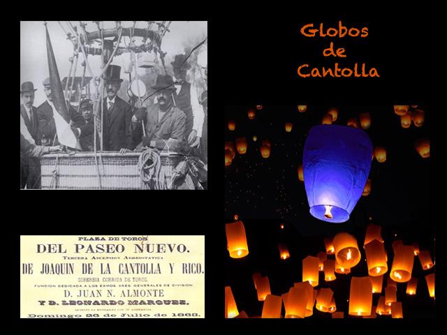 Globos de Cantolla, no de 'Cantoya'...