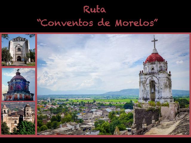 Conoce la Ruta de los Conventos del Estado de Morelos