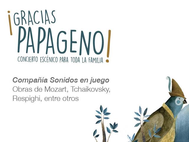 'Gracias Papageno', concierto en el que las aves traen la música clásica a tus oídos