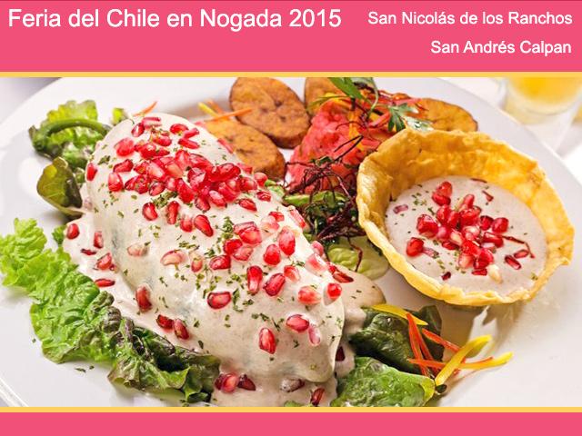 Prepararán más de 40 mil chiles para la Feria del Chile en Nogada 2015