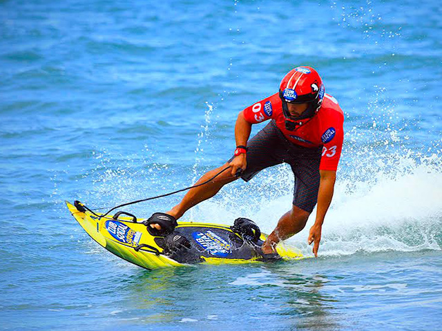 JetSurf, el último deporte acuático en México, llegó a Puerto Vallarta