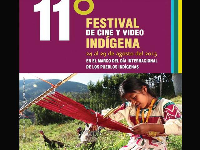 11º Festival de Cine y Video Indígena (FECVI) en Morelia y Uruapan