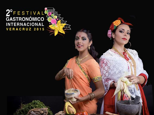 La India: país invitado del Festival Gastronómico Internacional Veracruz 2015