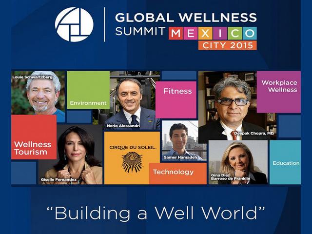 9º Congreso Mundial del Turismo de Bienestar 2015: por vez primera en México