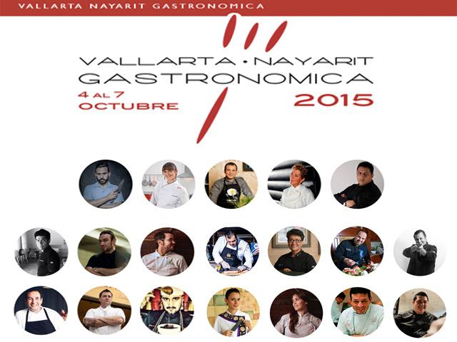 40 destacados chefs participarán en Vallarta-Nayarit Gastronómica 2015