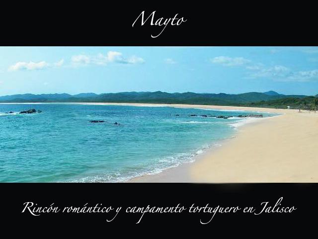 Playa Mayto: Rincón romántico y campamento tortuguero en Jalisco