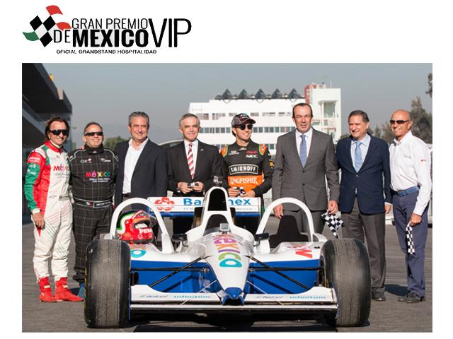 Autódromo Hermanos Rodríguez: ¡listo para el Gran Premio México 2015!