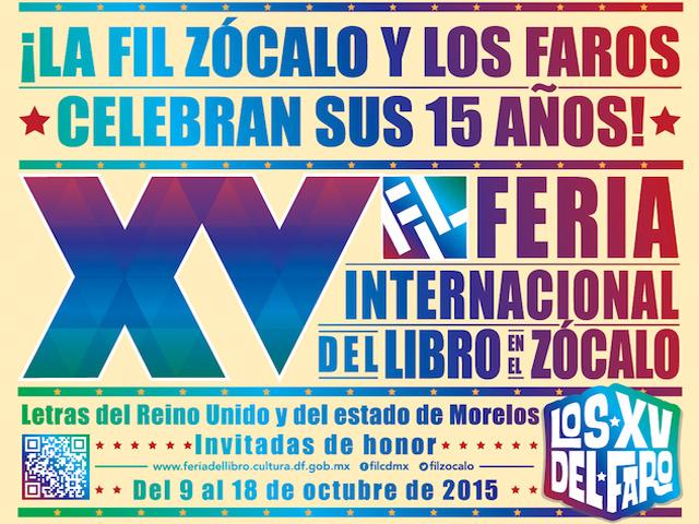 Reino Unido y Morelos invitados de la Feria del Libro Zócalo CDMX 2015