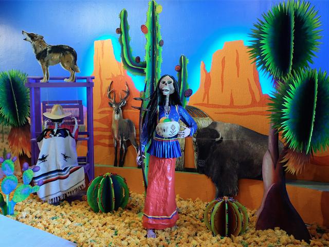 Eventos culturales y Ofrenda de Día de Muertos 2015 del Museo Dolores Olmedo