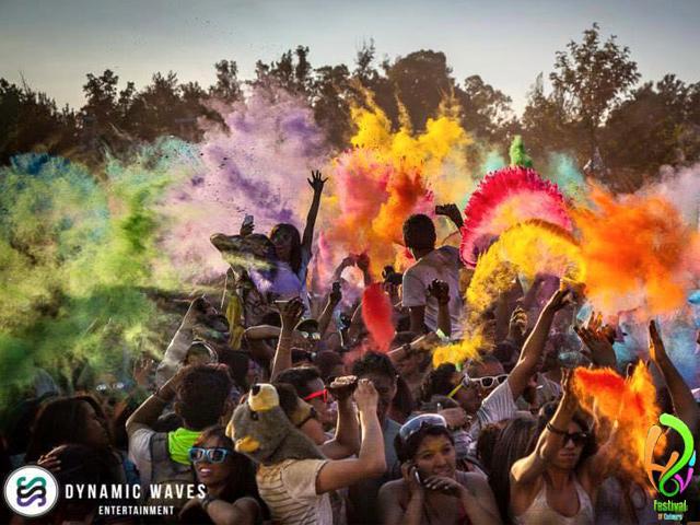 Regresa a México el Holi Festival of Colours con colores, música y mucha alegría