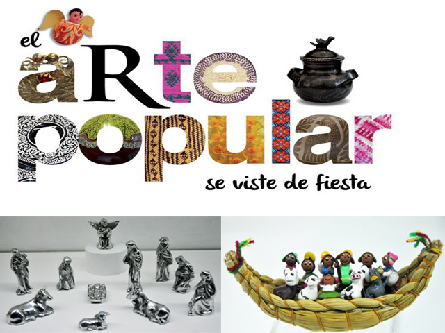 Nacimientos de México y el mundo y Feria de Arte Popular en el MNCP