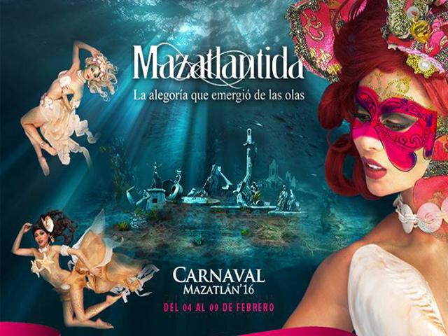 Programa de eventos y conciertos del 119º Carnaval de Mazatlán 2016