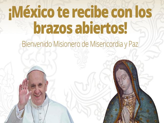 Lugares que el Papa Francisco visitará en México este febrero de 2016