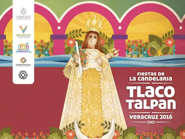 Programa de eventos Fiestas de la Candelaría 2016 en Tlacotalpan