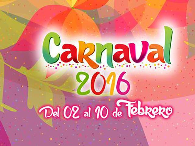 Artistas y programa de eventos del Carnaval de Veracruz 2016