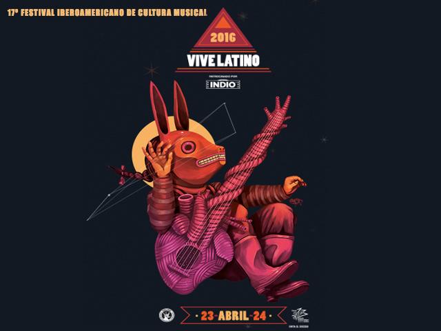 Conciertos del 17º Festival Vive Latino 2016 en el Foro Sol