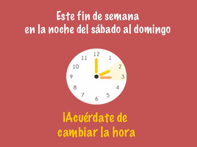 Este fin de semana, casi todo México pasará al horario de verano 2016