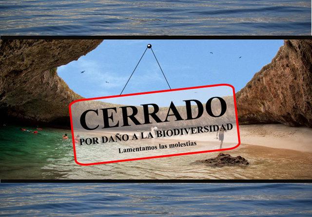 Cerrada por tiempo indefinido la Playa del Amor en las Islas Marietas