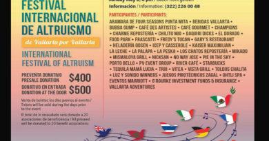 Festival Internacional de Altruismo 2016 en Vallarta apoyará a 20 asociaciones