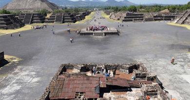 Hallan un nuevo centro cósmico en Teotihuacán