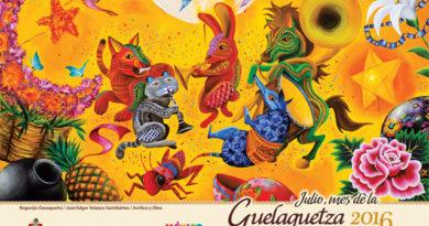 Programa de eventos de la Guelaguetza 2016, fiesta por excelencia de Estado de Oaxaca