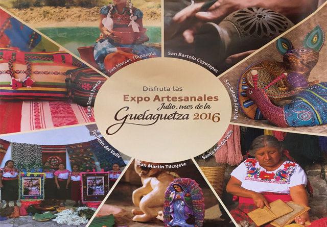 El Centro Histórico de Oaxaca es la sede del Encuentro Artesanal Guelaguetza 2016