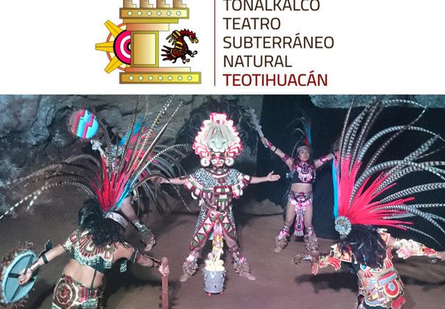 Aztecas, la historia de un pueblo: Obra de teatro desde una cueva de Teotihuacan