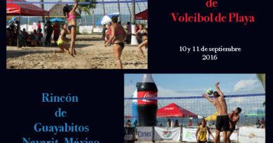 Tercer Torneo Nacional de Voleibol de Playa Guayabitos 2016