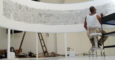 Este mes, Stephen Wiltshire retratará de memoria a la Ciudad de México