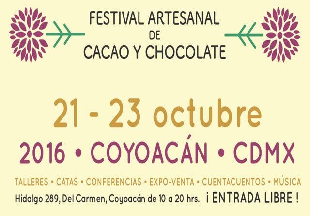 Festival Artesanal de Cacao y Chocolate 2016 en Coyoacán
