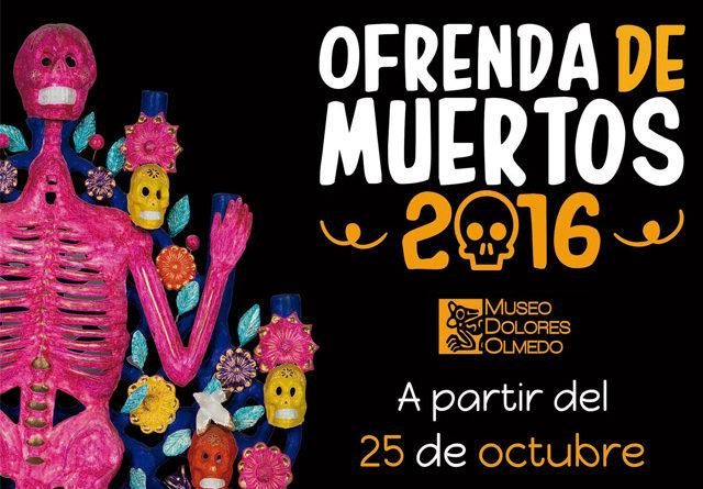 Día de Muertos 2016 en el Museo Dolores Olmedo: ¡22 años llevando el arte hasta en los huesos!