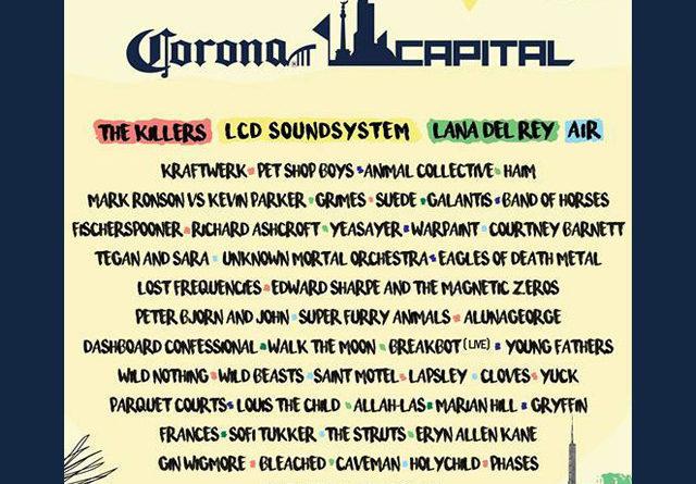 Line-up y horarios de todos los conciertos del Corona Capital 2016