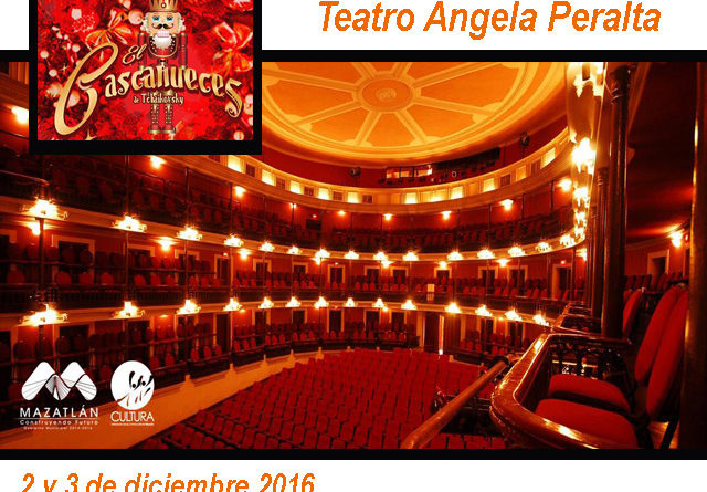 """El Cascanueces"" regresa este fin de semana al Teatro Ángela Peralta"