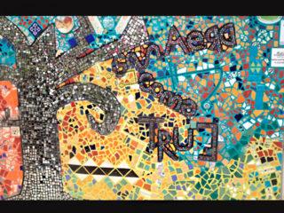 Dreams come true Mural Mosaico Puerto Vallarta