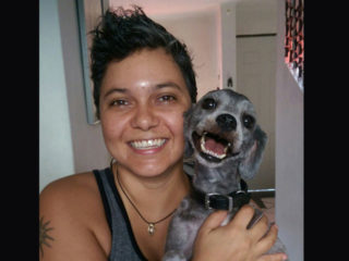 Natasha Moraga creadora de mosaicos en Vallarta