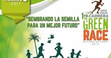 1ª Green Race 3K & 10K Riviera Nayarit 2017: Sembrando la semilla para un mejor futuro