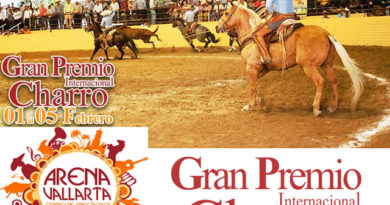 6to Campeonato Nacional Charro Gran Premio 2017 en Puerto Vallarta