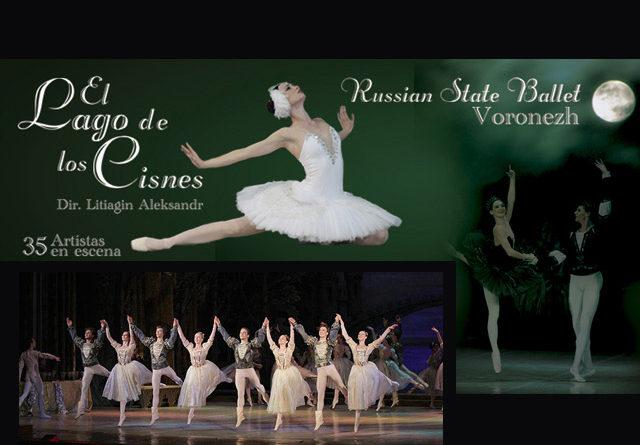 El Russian State Ballet Voronezh de gira en México con el Lago de los Cisnes