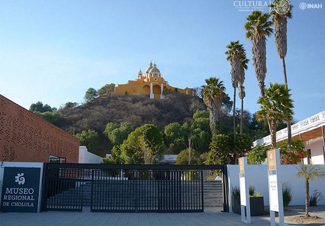 El Museo Regional de Cholula y el tren turístico Puebla-Cholula ya están abiertos al público