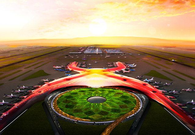 La primera fase del Nuevo Aeropuerto Internacional de México se inaugurará en Octubre de 2020