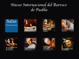 Exposiciones permanentes del Museo Internacional del Barroco de Puebla